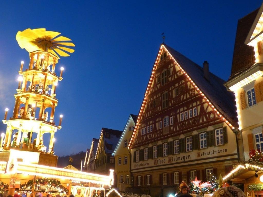 german wooden christmas pyramid