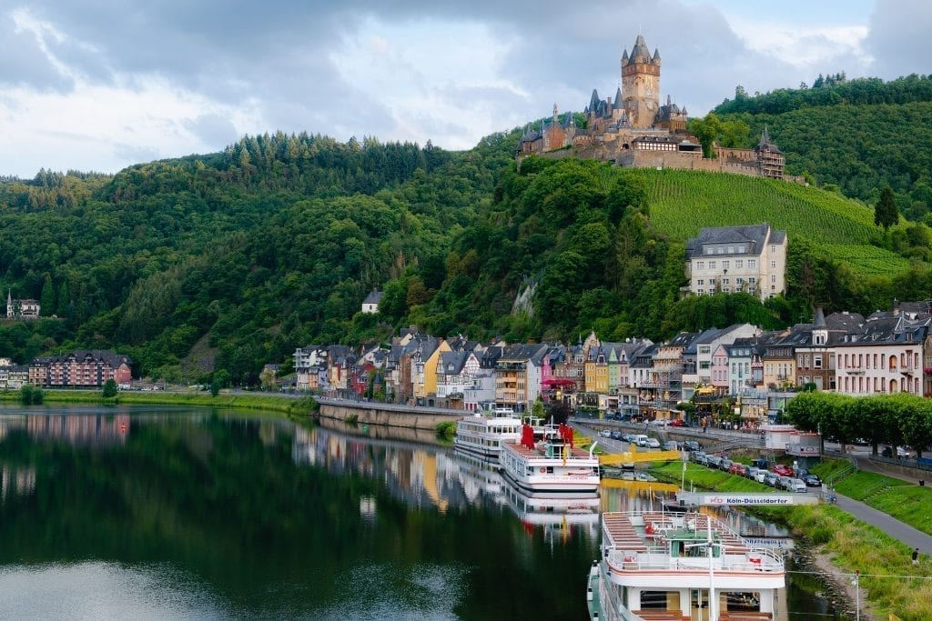 castles mosel river
