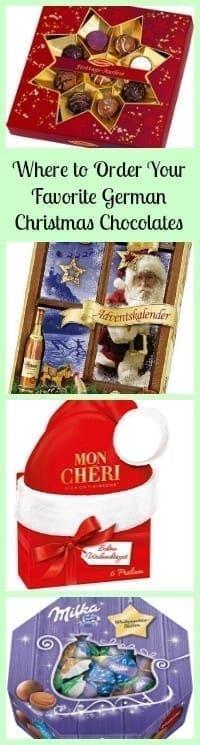 german christmas chocolates.