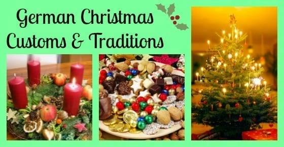 German christmas customs traditions
