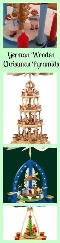 german wooden christmas pyramids
