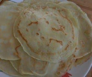 Authentic German Pancake Recipe- Eierkuchen Goldgelb