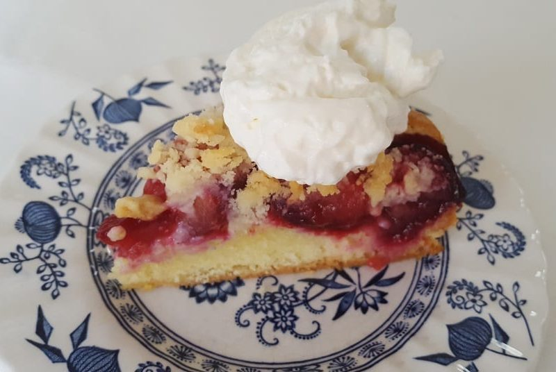 german plum cake