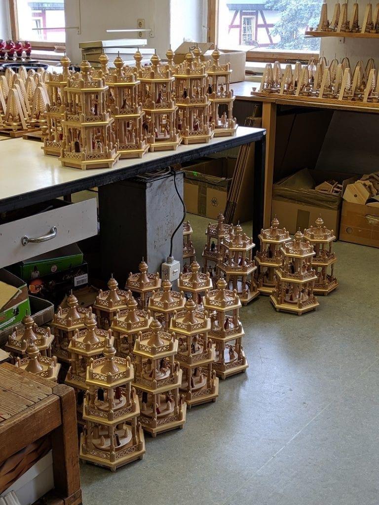 german christmas pyramids