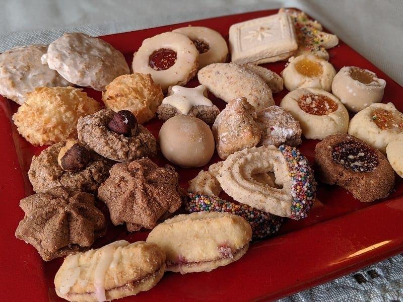 Silke's Christmas cookies