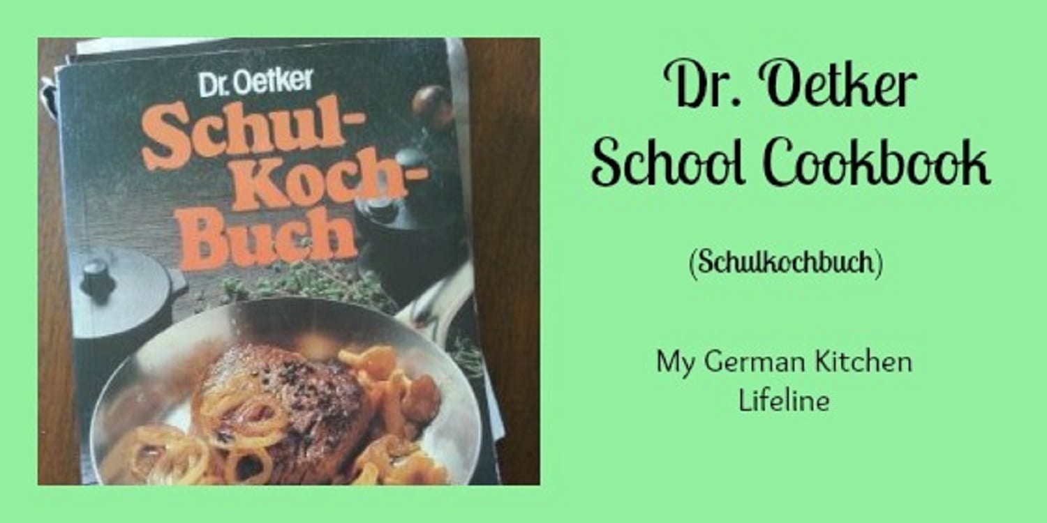 Dr. Oetker School Cookbook (Schulkochbuch) My Kitchen Lifeline!