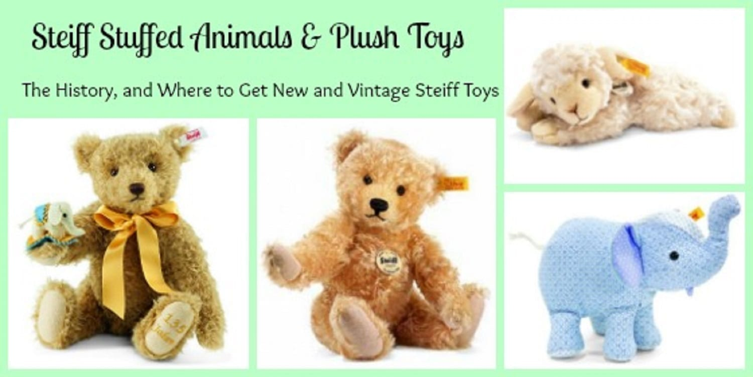 Steiff Stuffed Animals – Toys to Love for a Lifetime