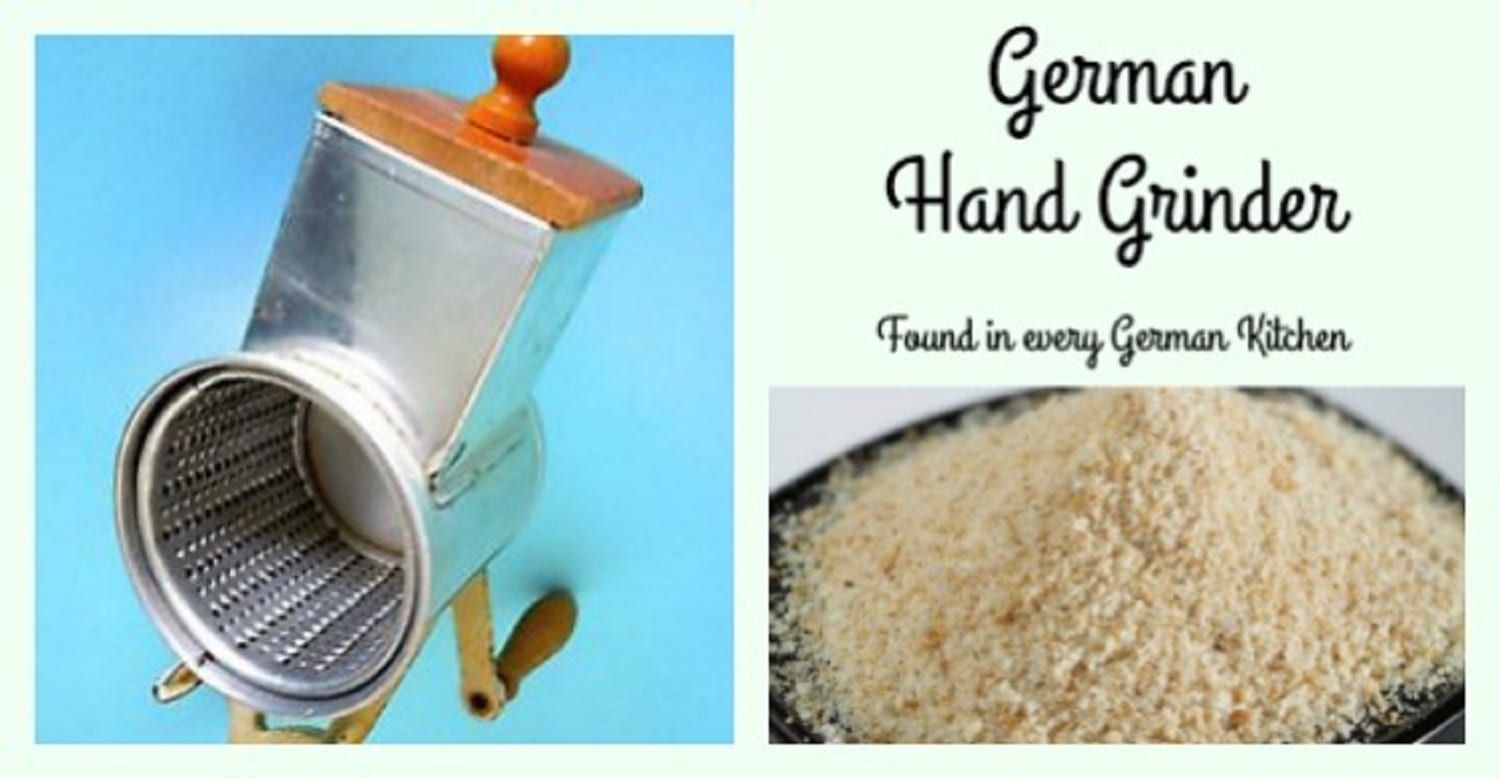 Using a German Hand Grinder- There's One in Every German Kitchen