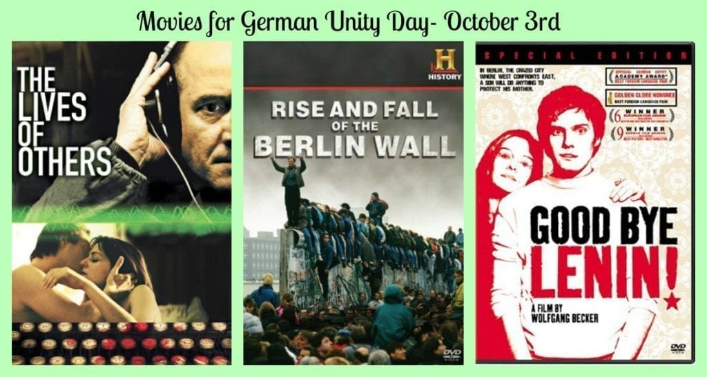 movies for german unity day