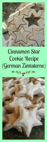 cinnamon star cookie recipe