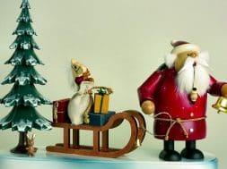 german santa claus figurines