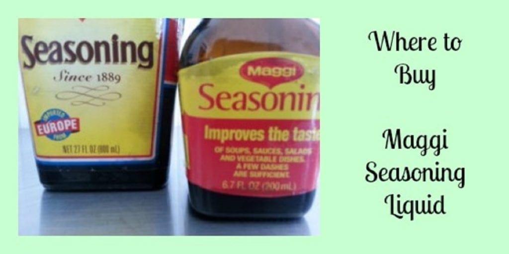 Where to buy German Maggi Seasoning Liquid