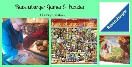 ravensburger games puzzles