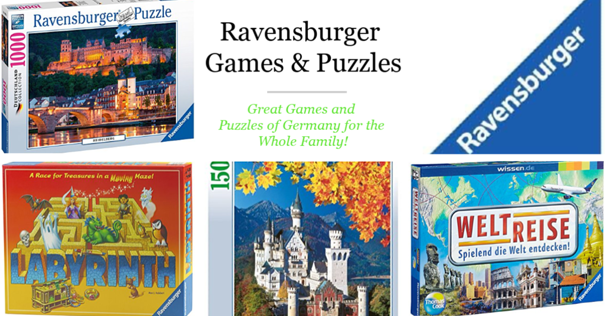 Ravensburger Games & Puzzles for the Whole Family!