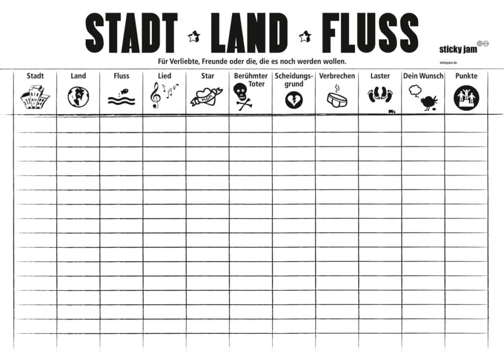 stadt land fluss game