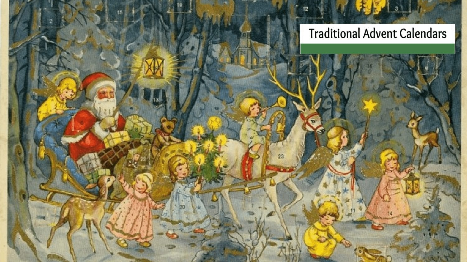 Traditional German Advent Calendars- Count the Days until Christmas!