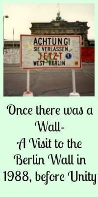 visit to the berlin wall