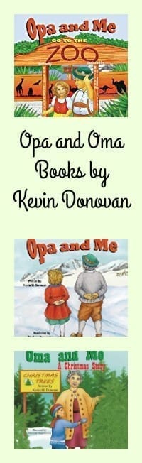 Opa and Oma Books by Kevin Donovan