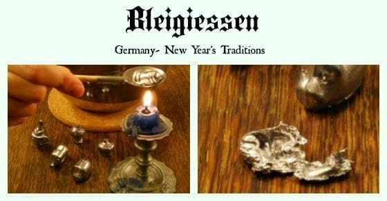germany new years traditions