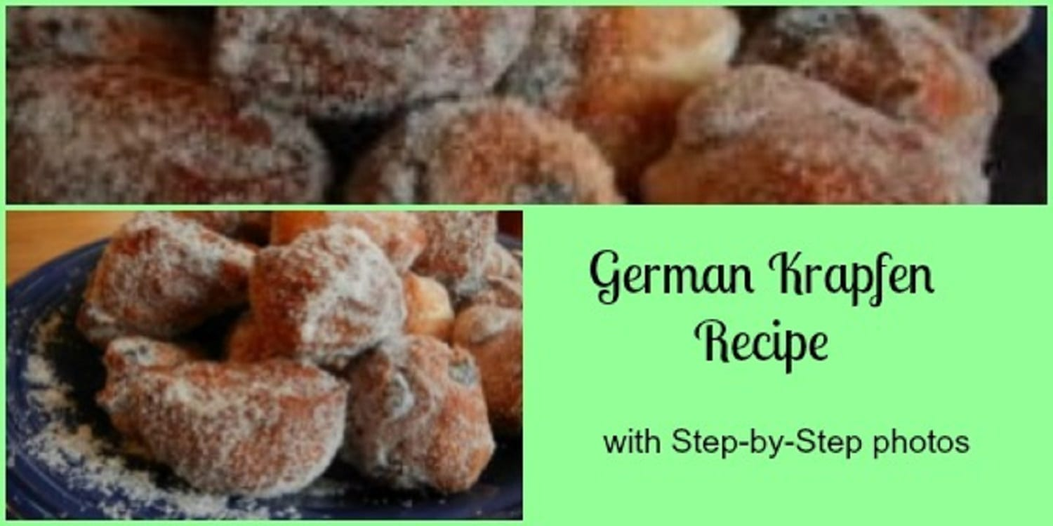 German Krapfen Recipe…. Fried Dough Treats!