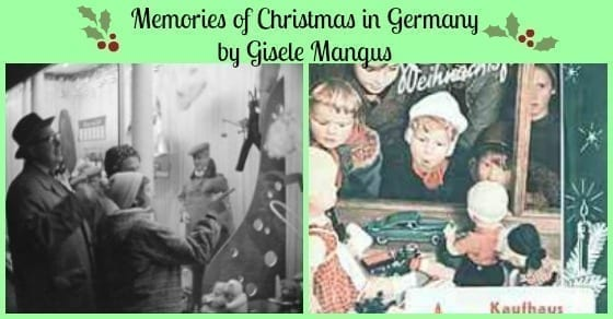 memories of christmas in germany