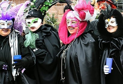 German Style Karneval Fasching Celebrations In The Us