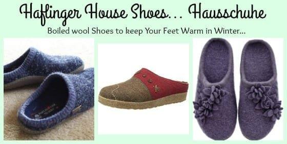 haflinger boiled wool shoes