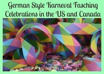 Karneval Fasching Celebrations in the United States 2017-2018