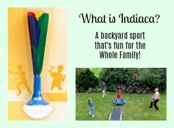What is Indiaca? A backyard sport that's fun for the Whole Family!