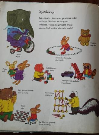 Richard Scarry Dictionary- My Best Word Book Mein Allerschoenstes Wörterbuch