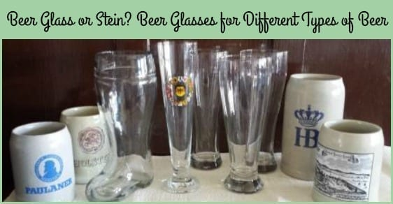 beer Glasses for Different Types of Beer