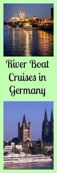 River Boat Cruises in Germany