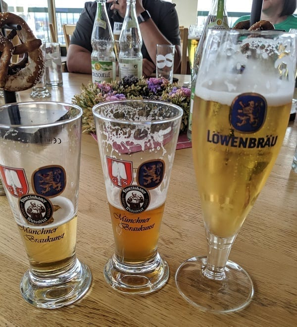 beer glass or stein