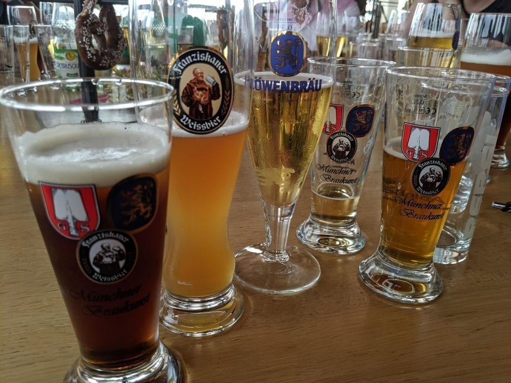 beer glass history