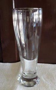 hefeweizen beer glass