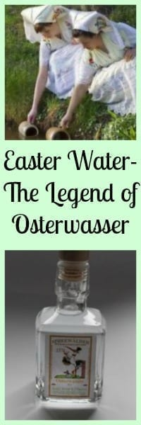 Easter Water- The Legend of Osterwasser