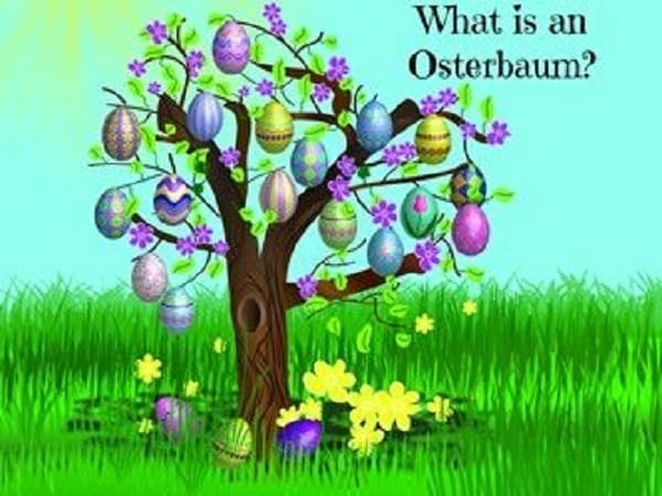 What is an osterbaum create your own easter tree with How to make an easter egg tree