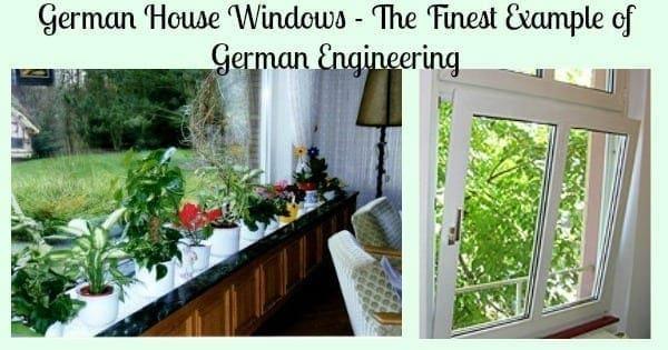 german house windows