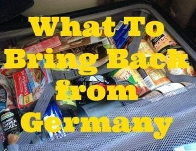 what to bring back from germany