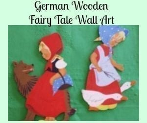 German Fairy Tale Wall Art -Wandfiguren from Mertens Kunst
