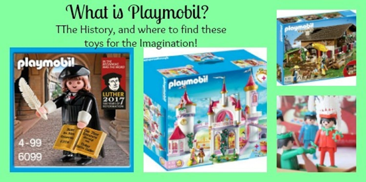 What is Playmobil ? Find New and Vintage Toys for the Imagination!