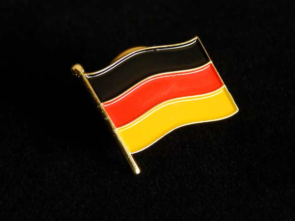 german flag pin