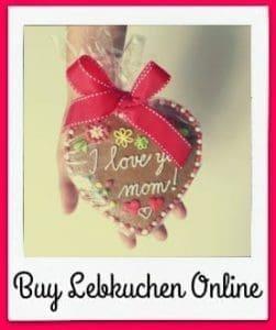 Buy Lebkuchen Online: Lebkuchen Hearts and Lebkuchen Tins