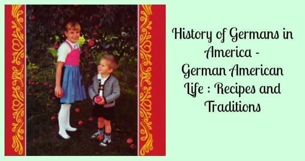 history of germans in america
