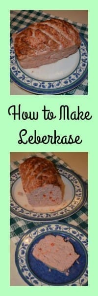 how to make leberkase