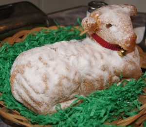 easter lamb mold cake recipes
