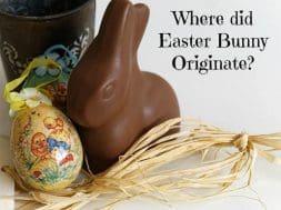 origin easter bunny germany