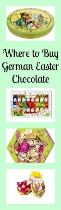 german easter chocolate