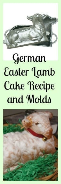 german easter lamb cake