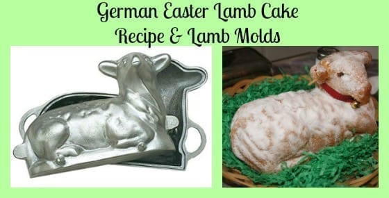 easter lamb mold cake recipe